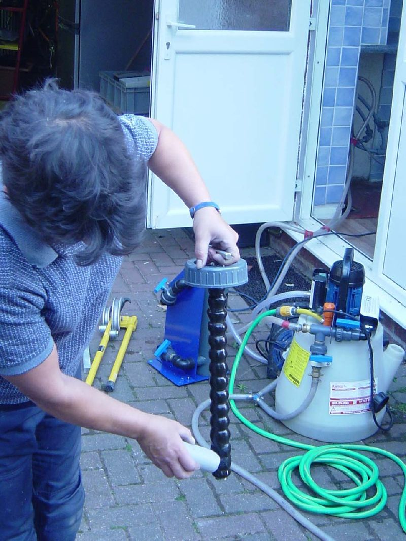 Heating Pump: Air Trapped In Central Heating Pump